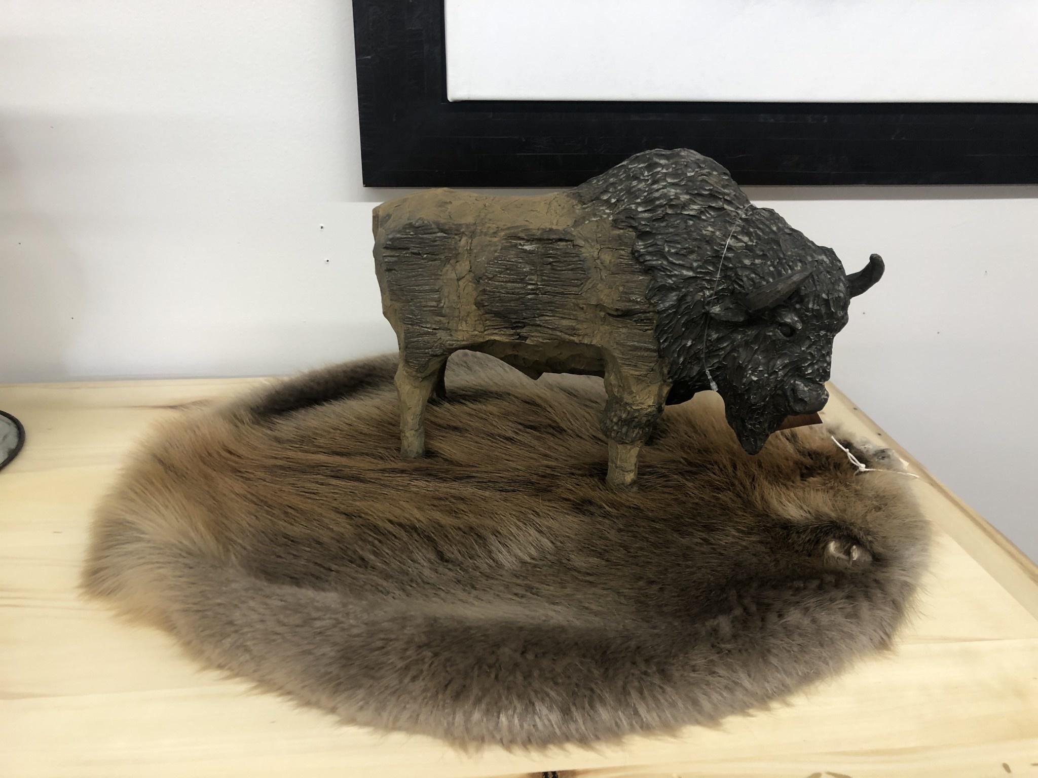 Todd Traucht Beaver Pelt - SMALL