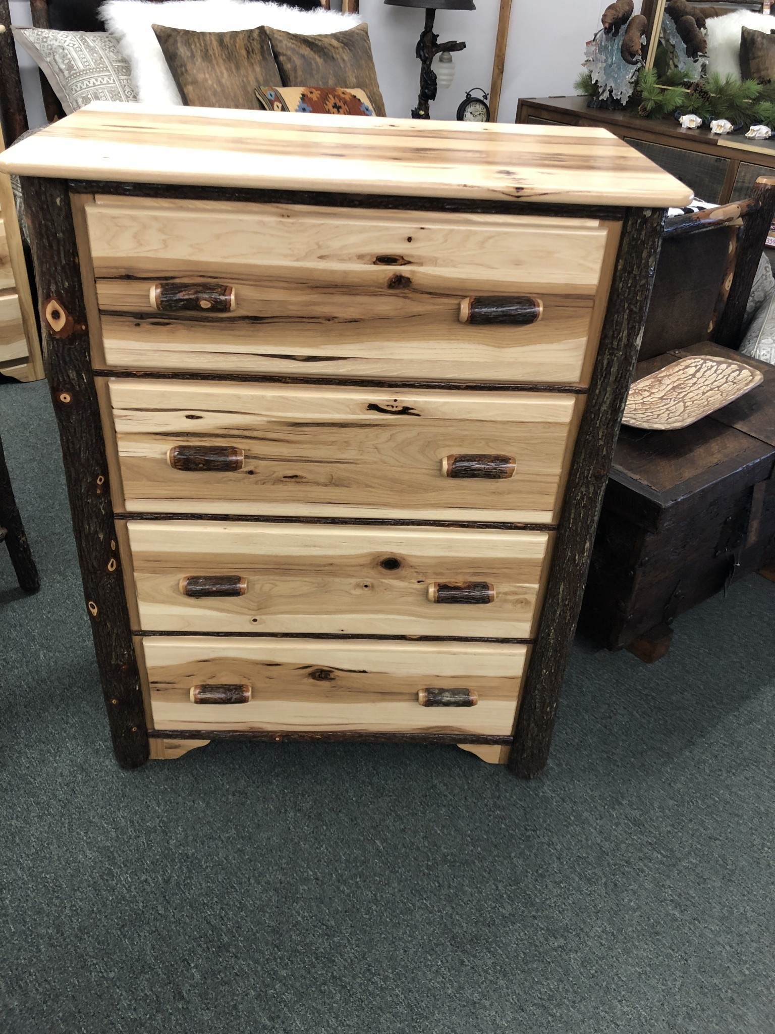 ALBC 4 Drawer Hickory Chest   SO