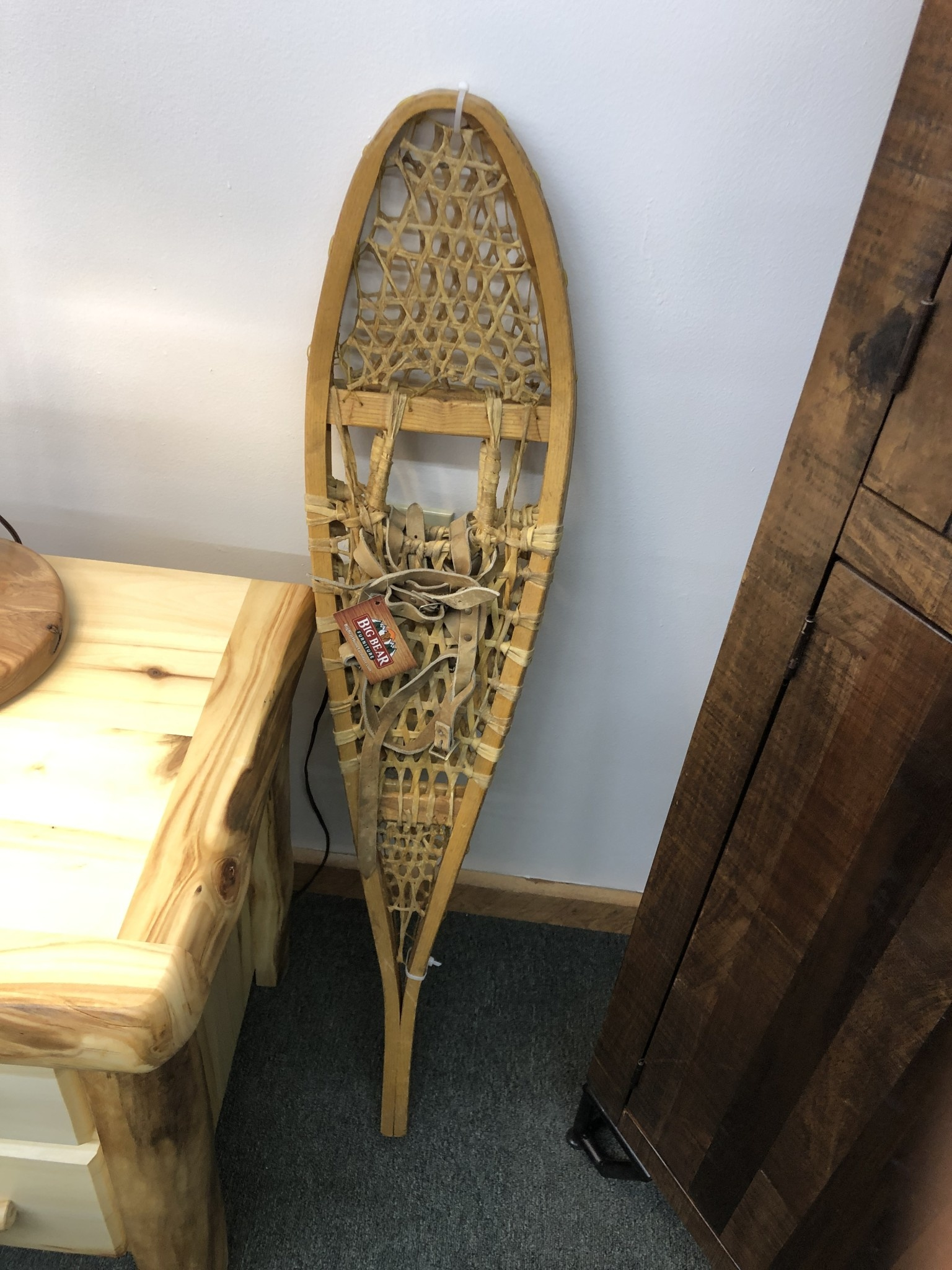 All Resort Furnishings Vintage Wooden Snowshoes