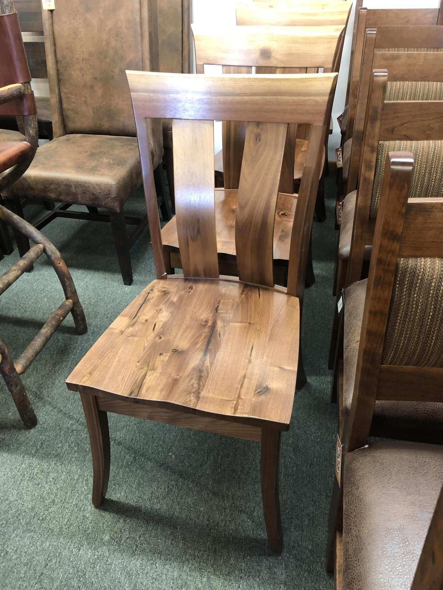 Co-ALBC Walnut Dining Chair