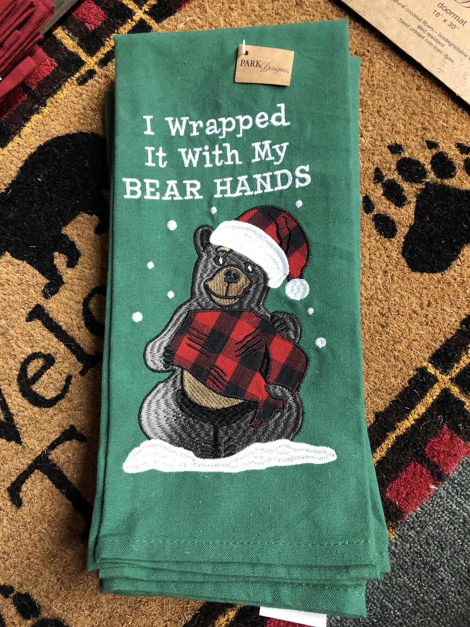 Park Design Bear Hands Dishtowel
