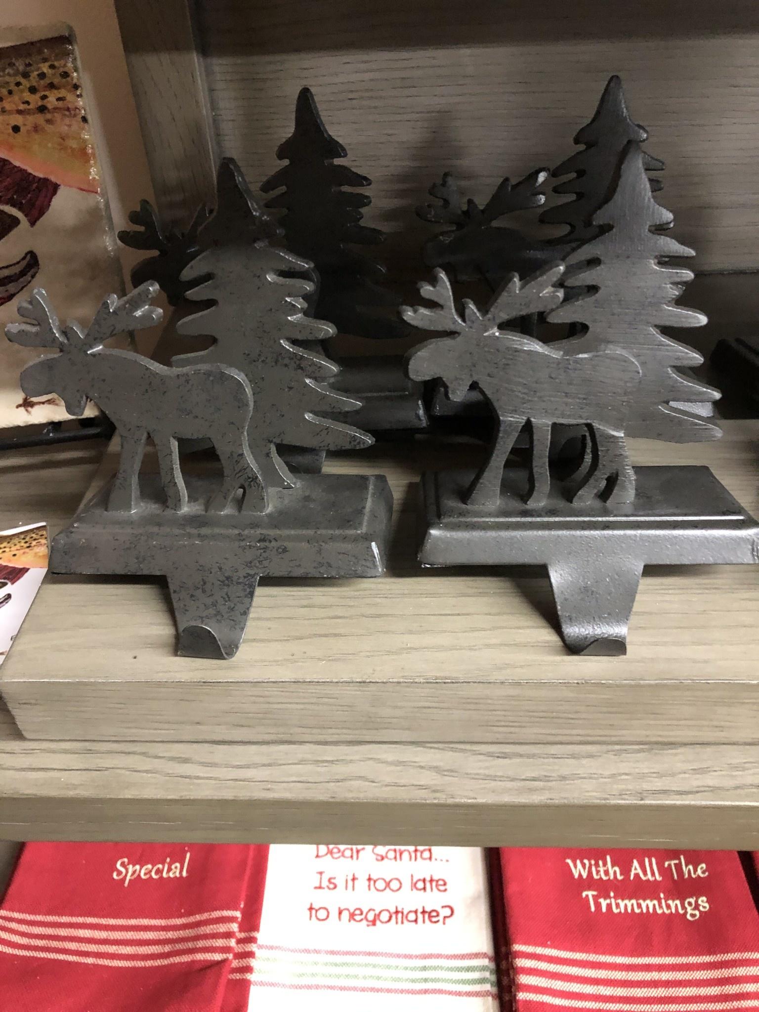 Park Design Moose Stocking Holder