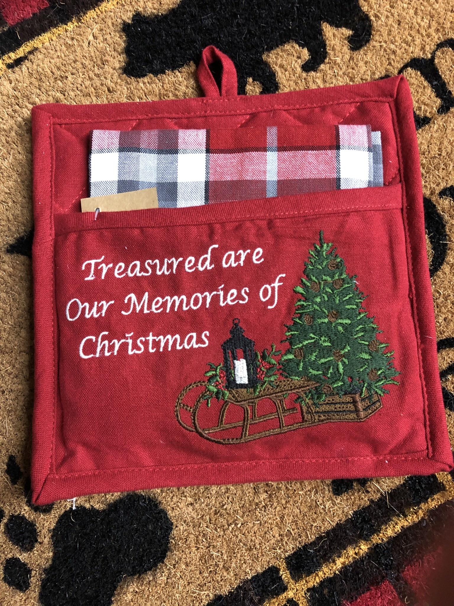 Park Design Treasured Memories Potholder Set