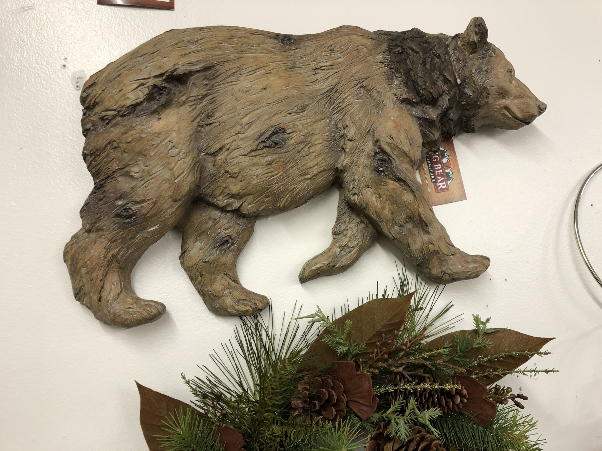 SPI Brown Bear Wall Plaque - Large