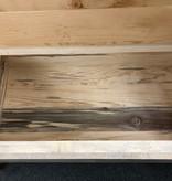 MCE Industries Rustic Entryway Storage Bench (artwork)