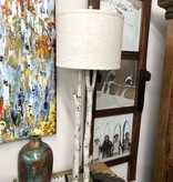 pacific coast White Forest Buffet Lamp 12x12x36