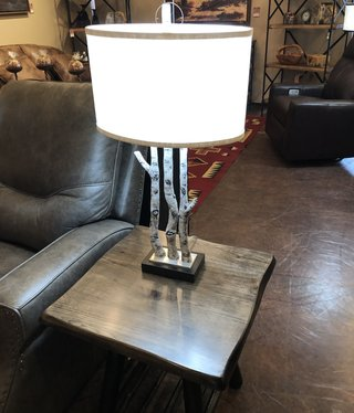 pacific coast White Forest Table Lamp  10x16x30.25