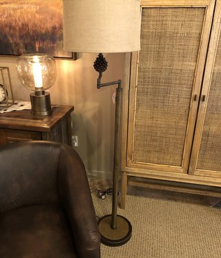 pacific coast Pinecliffe  Swing Arm Floor Lamp