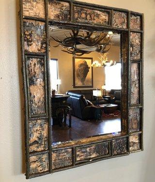 Dalin Enterprises Birch Wood Mirror  22x26