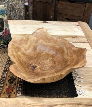 Dalin Enterprises Wood Bowl w/o handle - Large