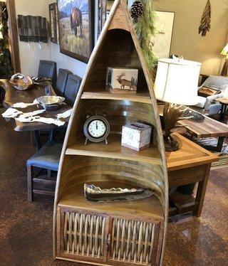 "Dalin Enterprises XX-Large Canoe Shelf w/doors - 72""H"