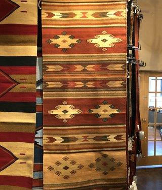 """Co-Escalante Zapotec """"Cubos Wool"""" 2.5'x10'  ER11350"""