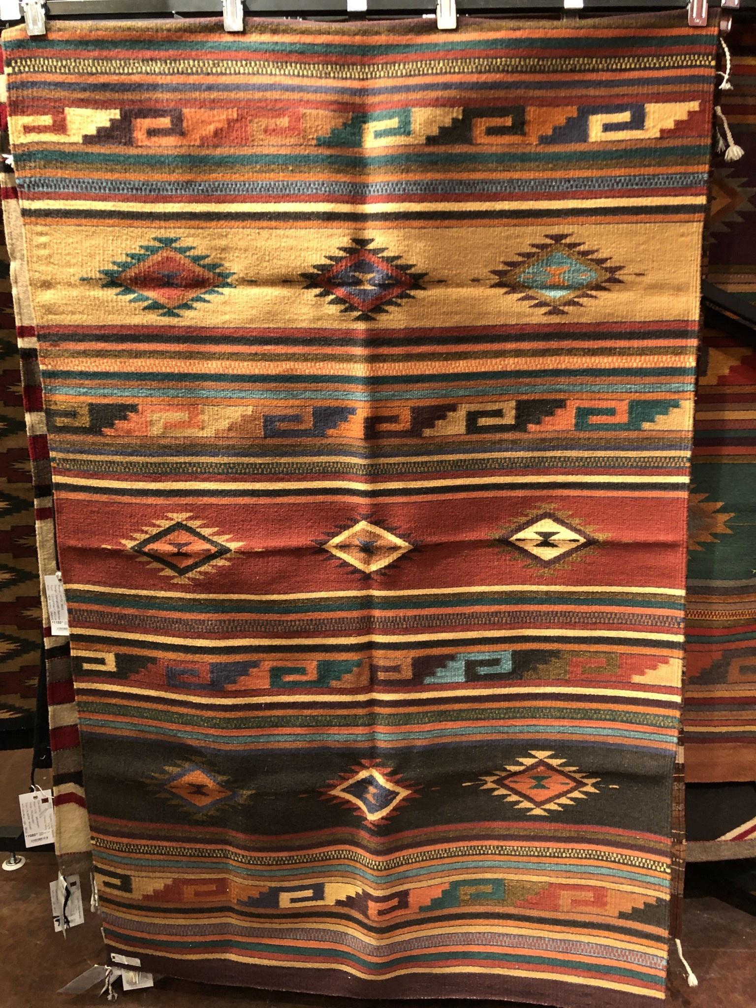 """Co-Escalante Zapotec """" Maynard Dixon"""" 4'x6.5'  ER11305"""