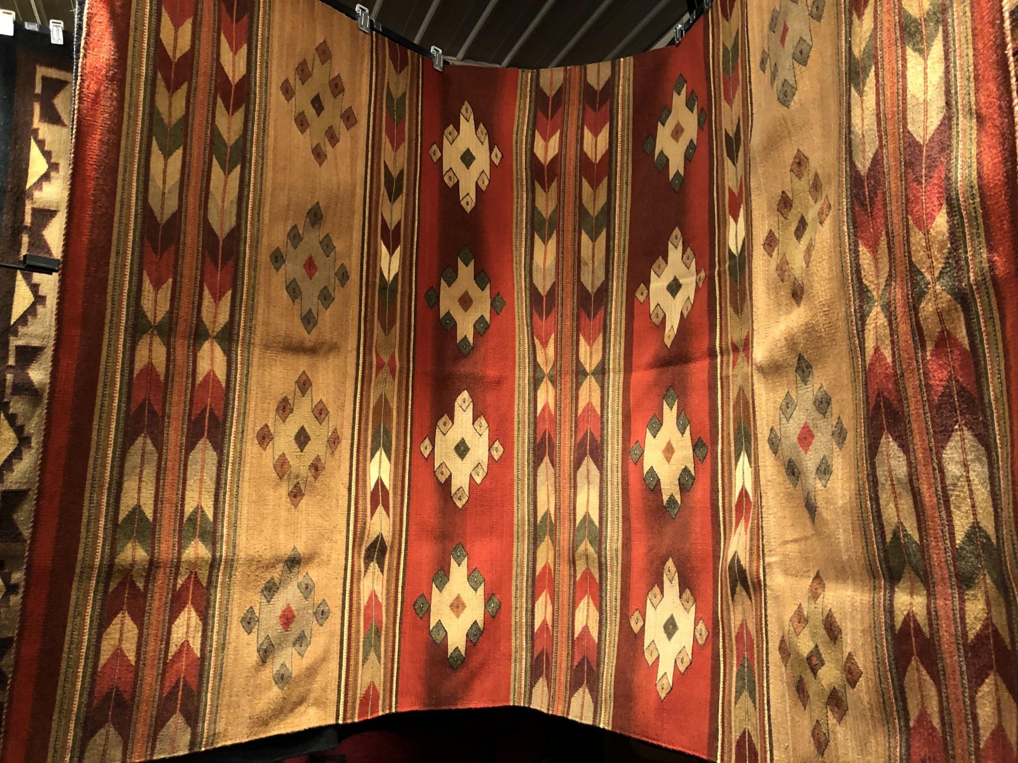 """Co-Escalante Zapotec """"Cubos Wool"""" 6.5x10   ER9434"""