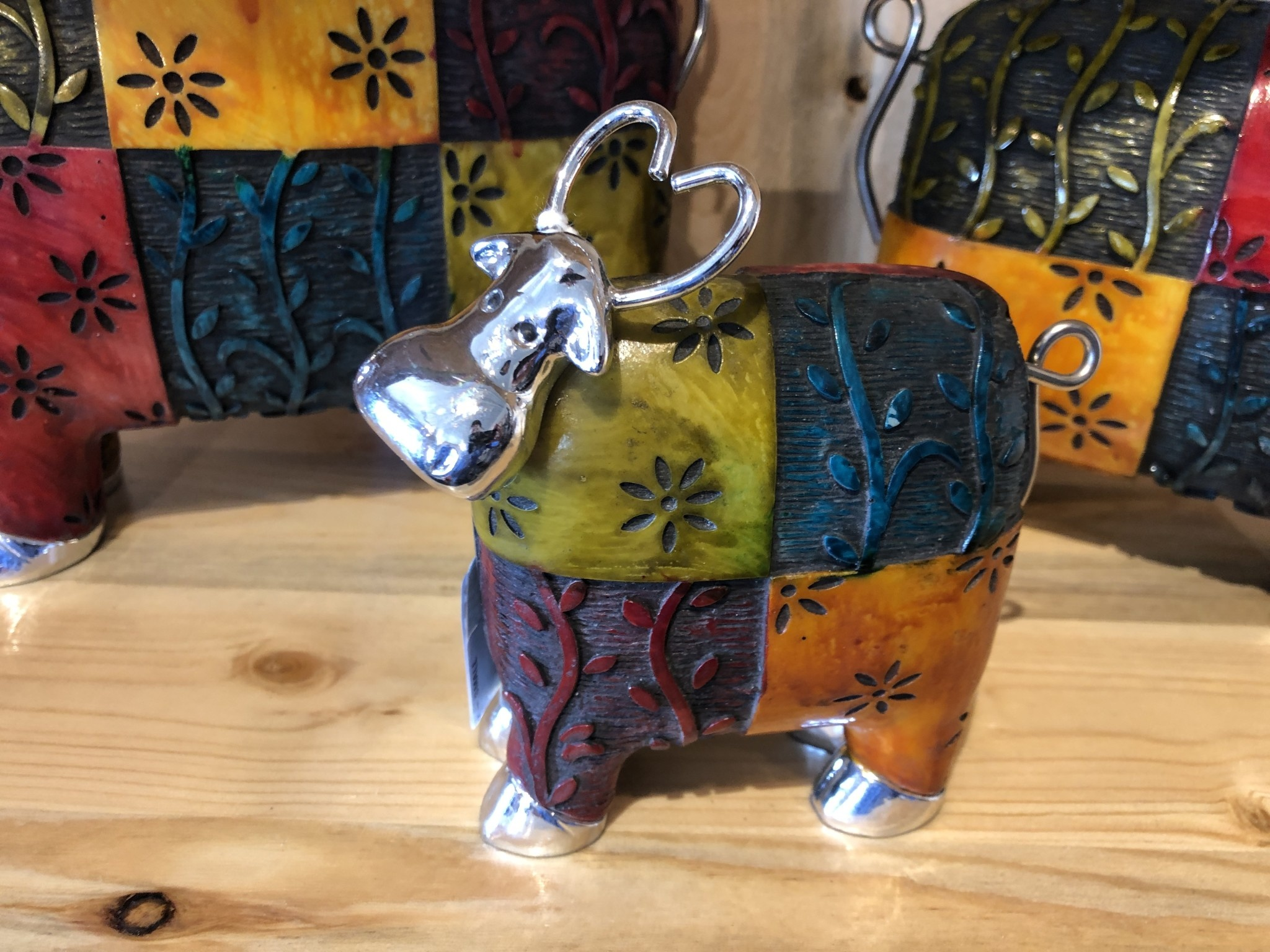 Uttermost Colorful Cow -  SMALL