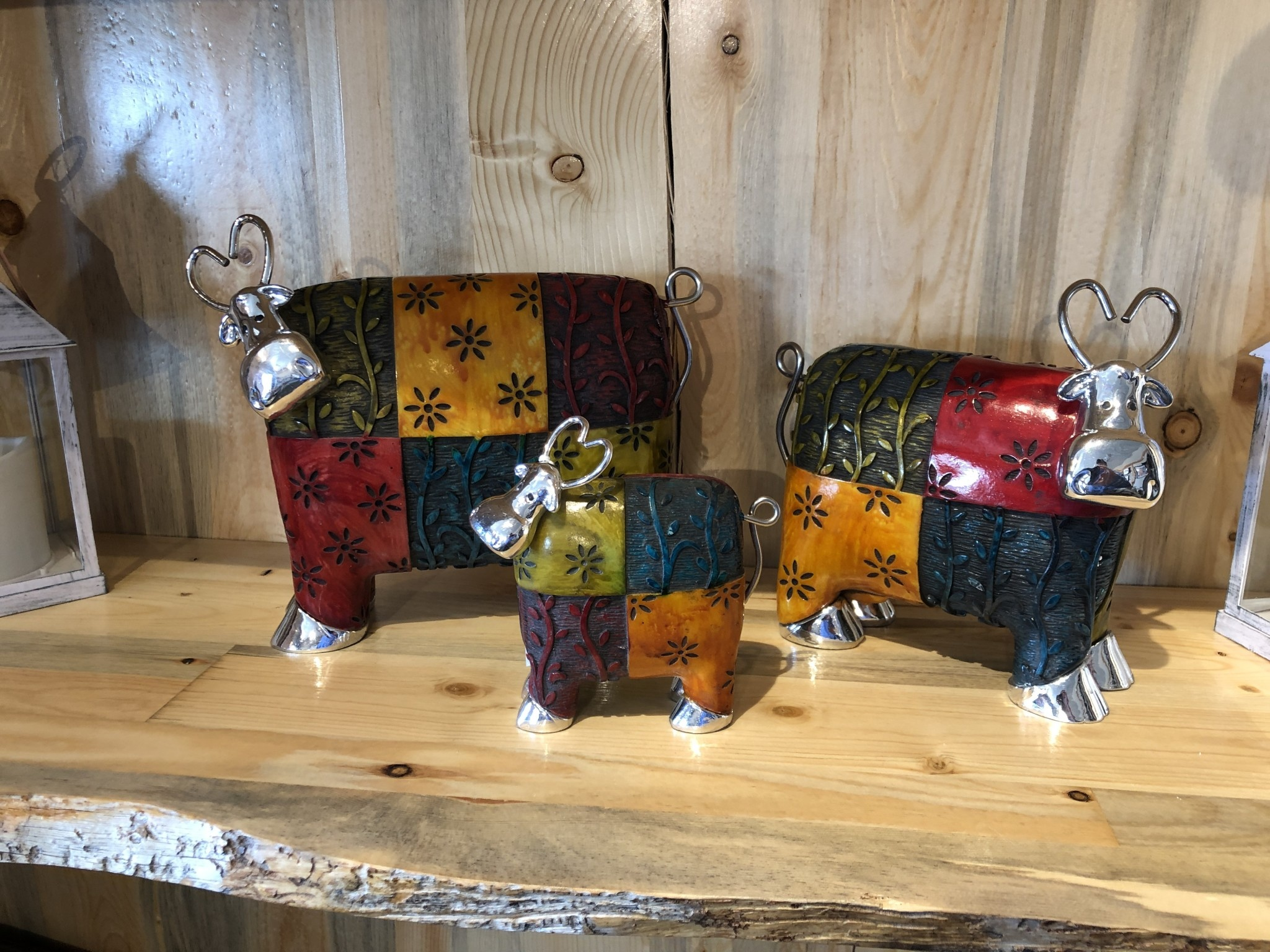 Uttermost Colorful Cow - LARGE