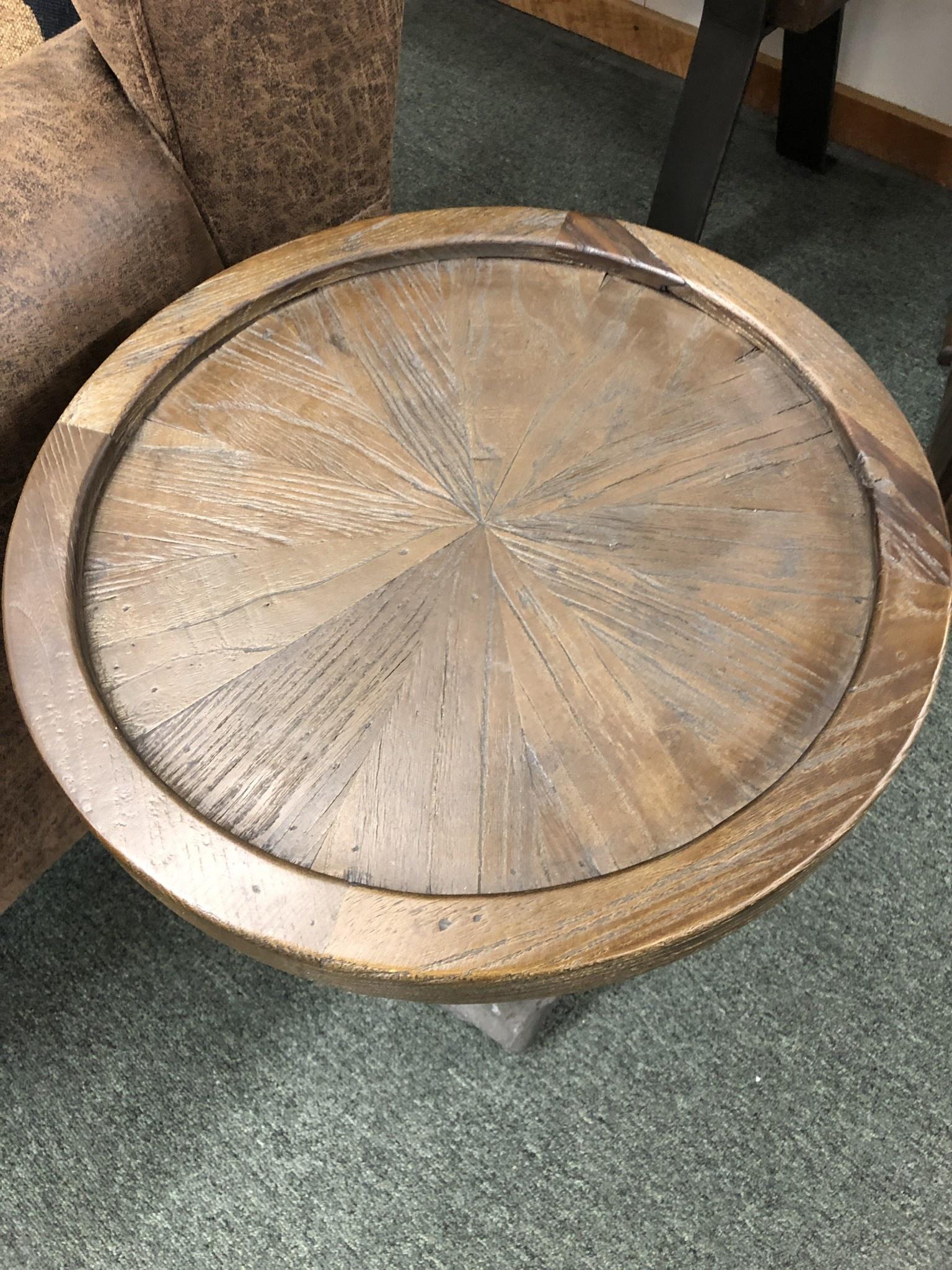 Uttermost Horton Accent Table  16D x 23H