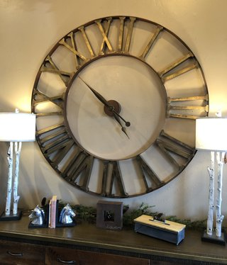 "Uttermost Kaison Wall Clock  60""D"
