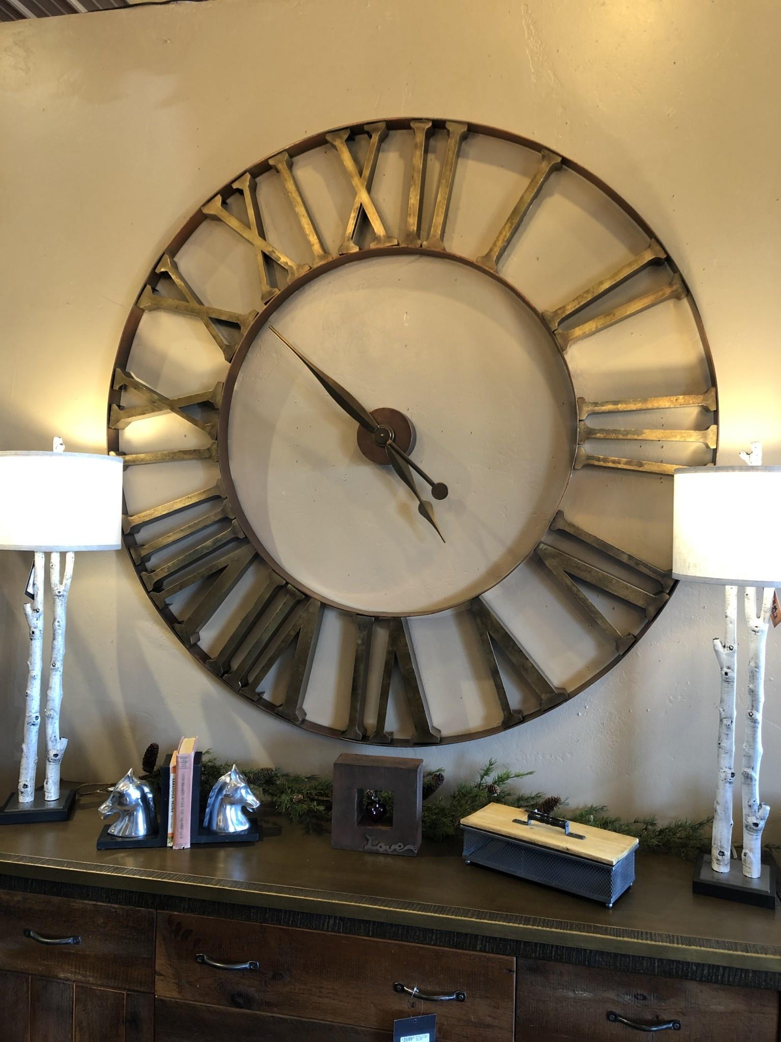 """Uttermost Kaison Wall Clock  60""""D"""