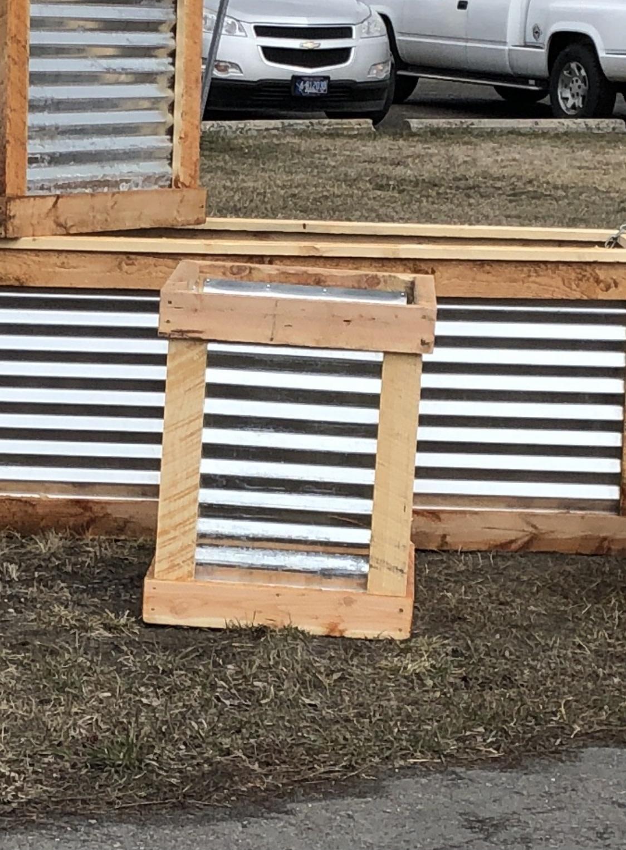 """Co-Rustic North 2' x 2' x 30""""H, Planter Box"""