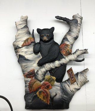 "Dalin Enterprises Bear in Birch  20""W x 24""H"
