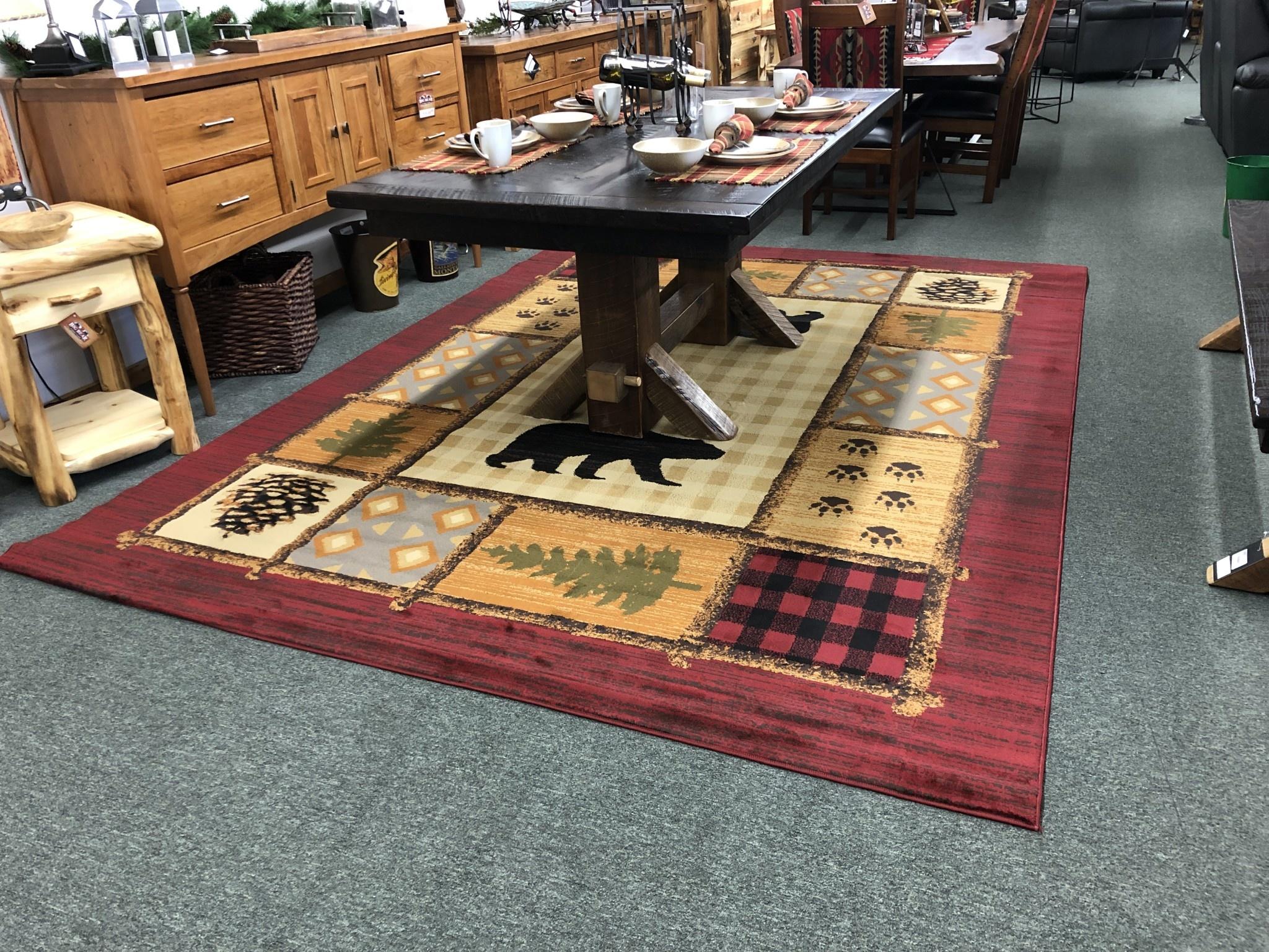 United Weavers Affinity Lodge Mosaic 7'10 x 10'6