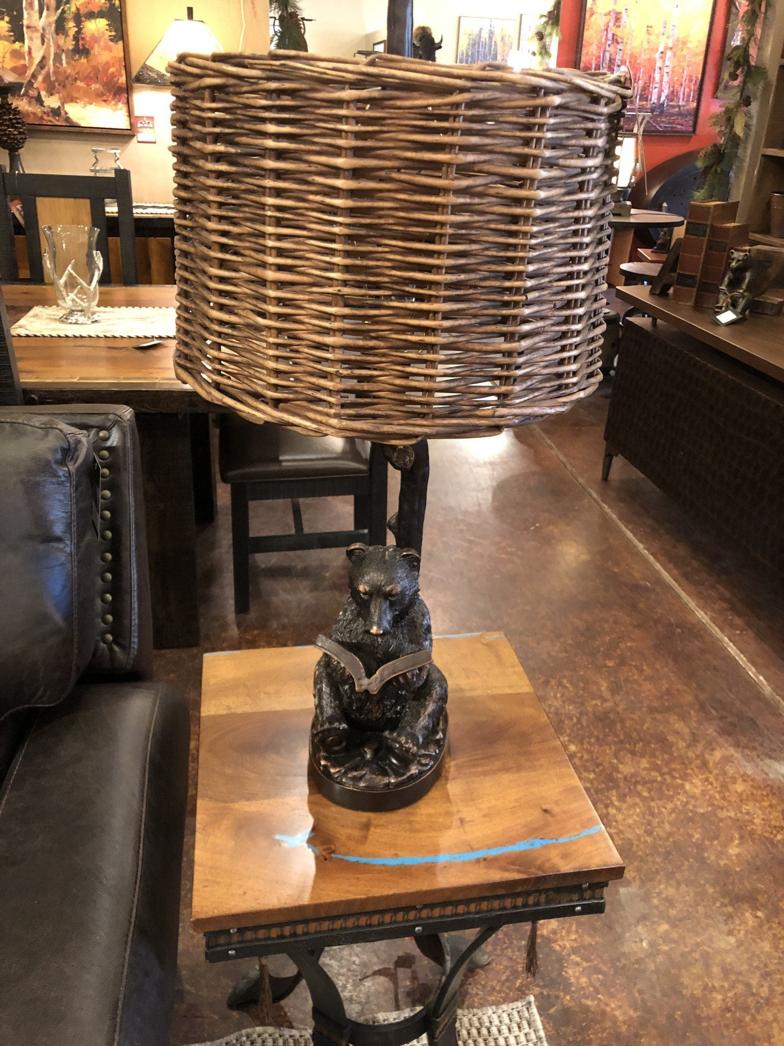 Crestview Bear Knowledge Table Lamp