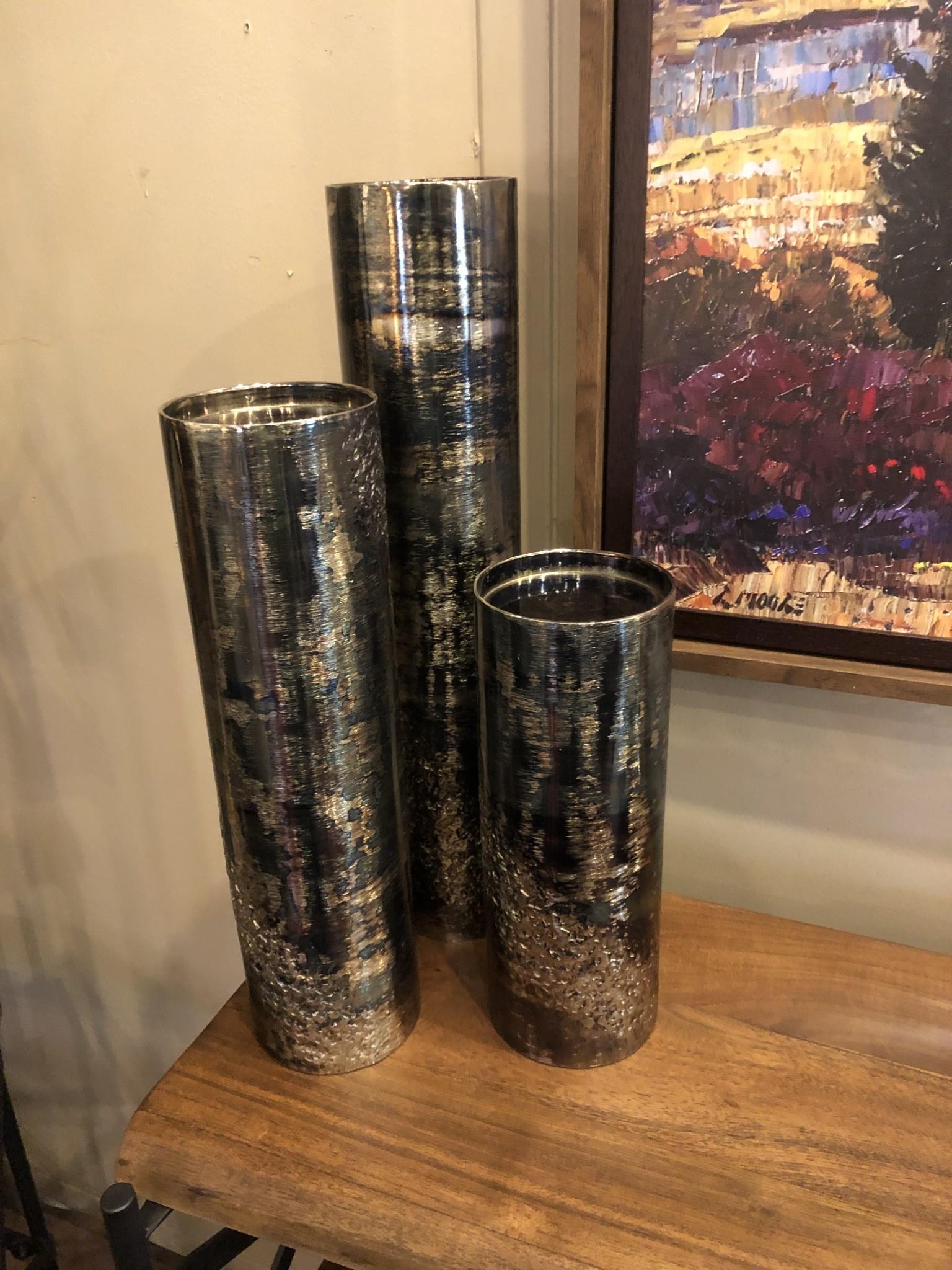 "Crestview Journey Vase /Candelholder 20""H Large"