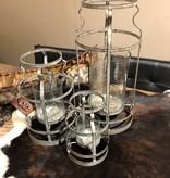 "Crestview Large Jones Open Candleholder/Vase 20""H"