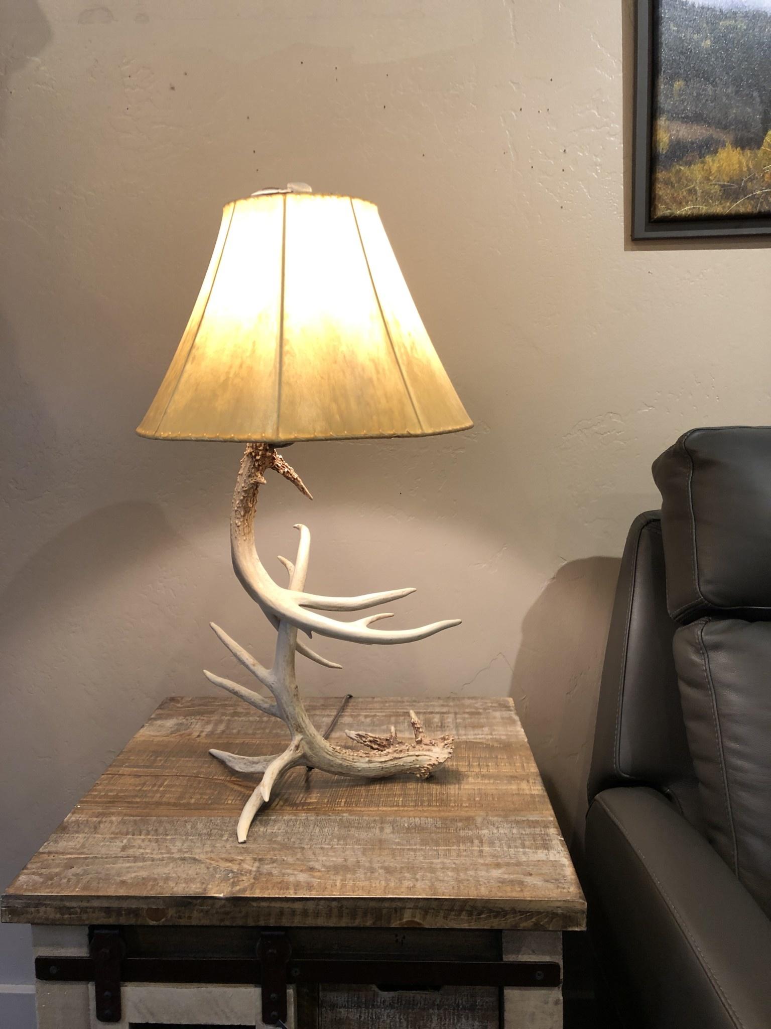 Fish Non Typical Deer Lamp