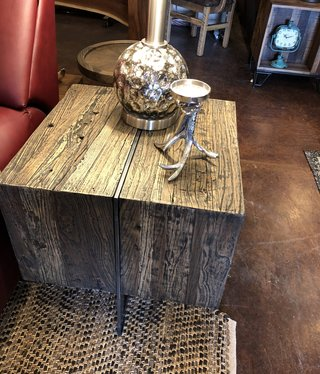 Uttermost Connell End Table  22x22x23H