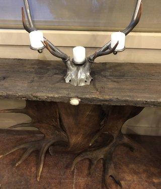 """Fish 55"""" Moose Antler Table"""