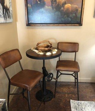 HTD Celeste Bar Chair 18.5x23x44.5