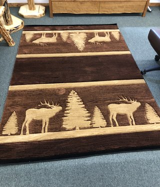 United Weavers Cottage Brown Elk 5'3 x 7'6 Rug