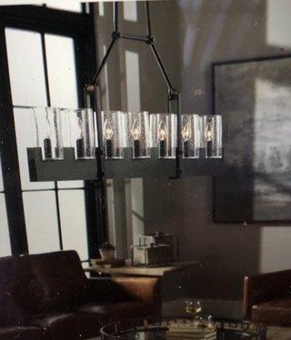 Uttermost Pinecroft 7 LT Island Light 22H x 74W x 4D