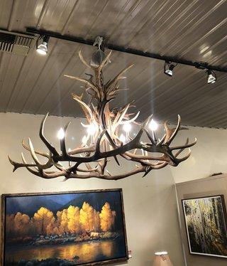 Fish Elk/Caribou Chandelier