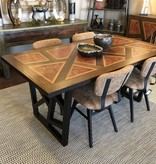 Green Gables Lava 6' Dining Table 31H x 72W x 38D