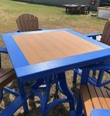 """ALBC 44"""" SQ Poly PUB Table-SO"""