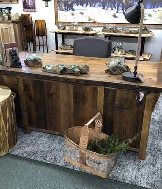 Green Gables Stony Brooke FULL Kneehole Desk 31x78x36D