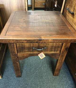 Green Gables Woodland Park 1 Drawer End Table