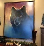 Colt Idol Eyes of Fire Framed 62x74 (Wolf)