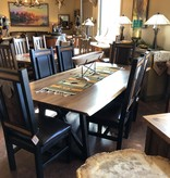 Green Gables Timber Forged London 7Ft Dining Table 29.5x84x42D