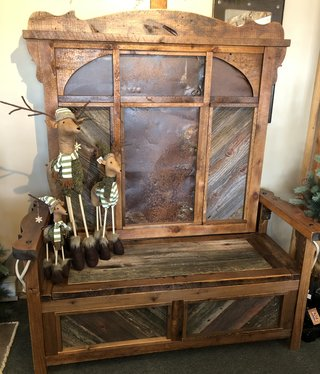 Green Gables Western Traditions Durango Lift Top Bench w/Back