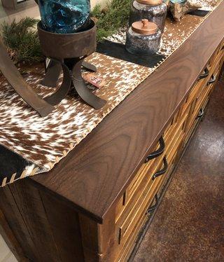 Green Gables Mossy Oak Carver Point 7 Drawer Dresser