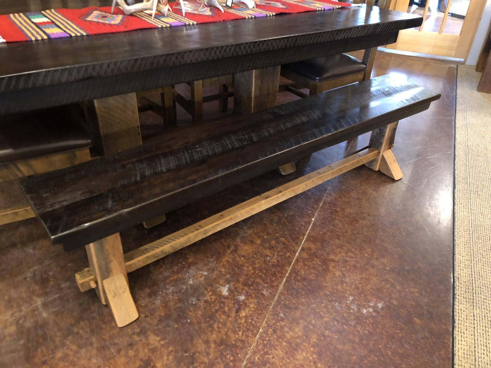 ALBC 6' Graphite Stain Bench SO