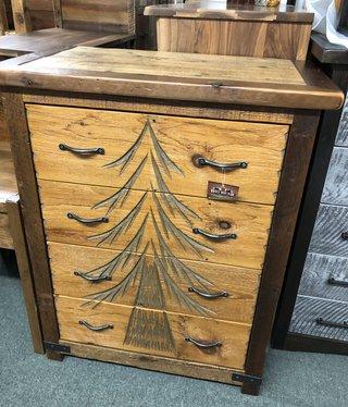 Green Gables Sequoia 4 Drawer Dresser