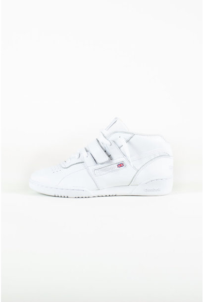 Reebok Workout Clean Mid Strap MU - White