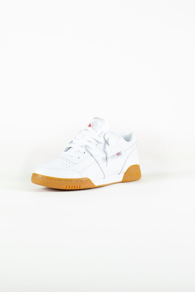 Reebok Workout Plus - White/Gum-3