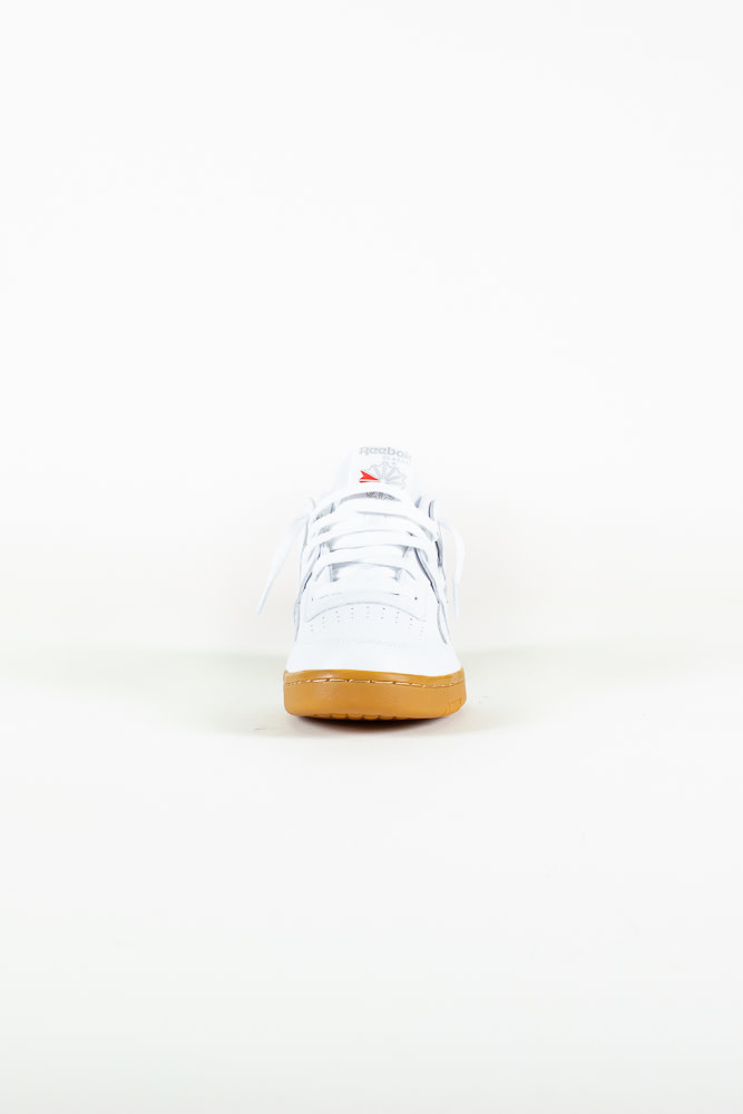 Reebok Workout Plus - White/Gum-4