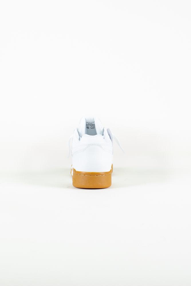 Reebok Workout Plus - White/Gum-5